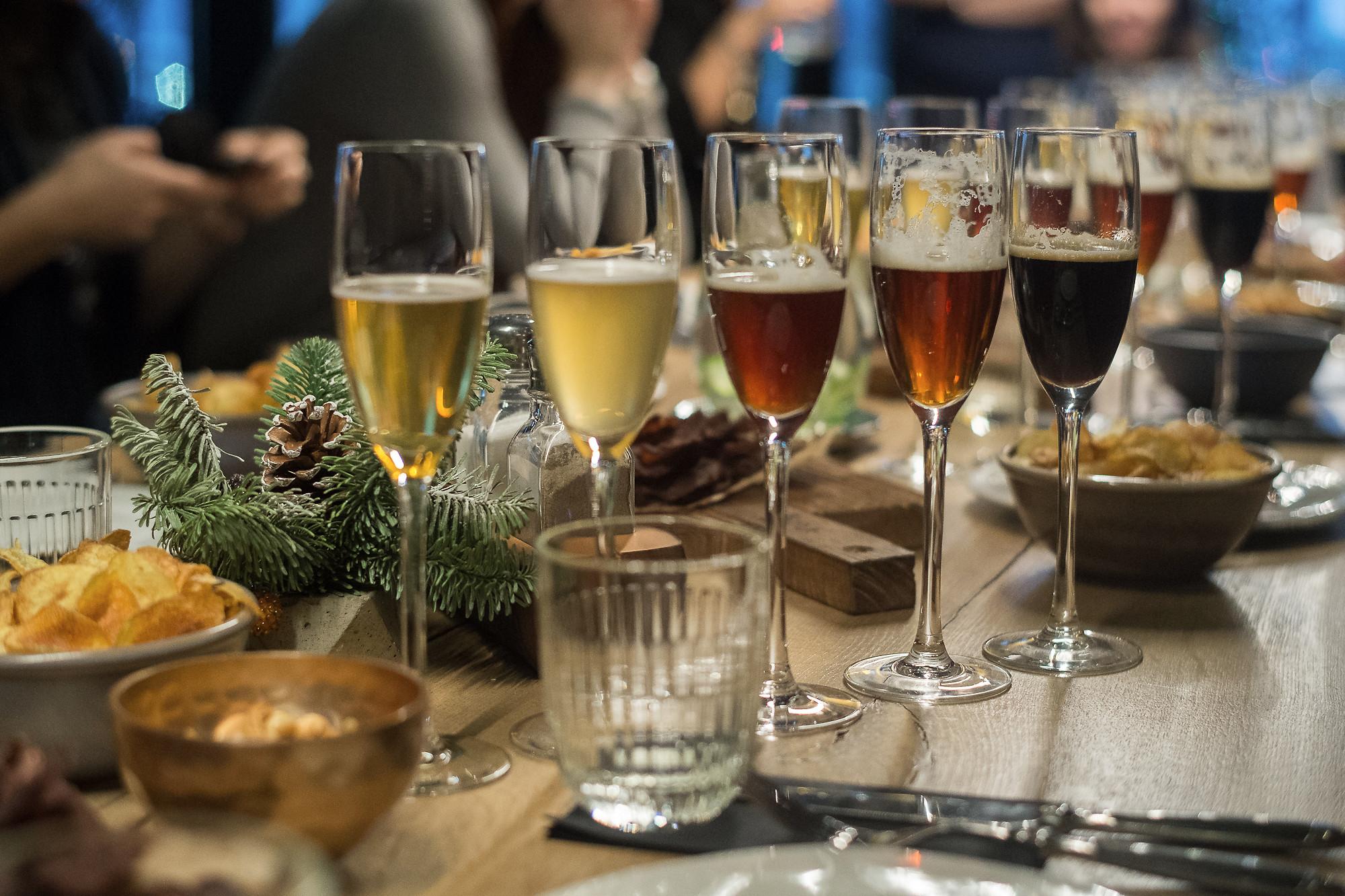 Вечер в ресторане-пивоварне GRUT