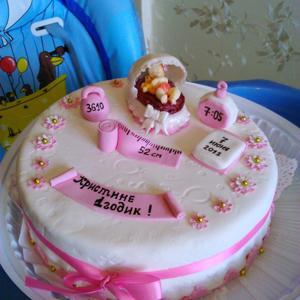 Наш тортик!!! Изготовитель кондитерская СЛАДКОFF