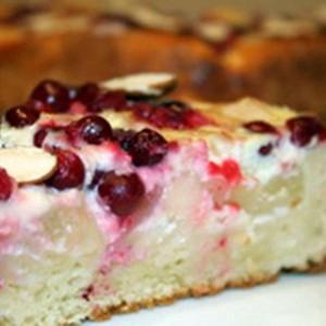 Брусничный пирог Красный яр