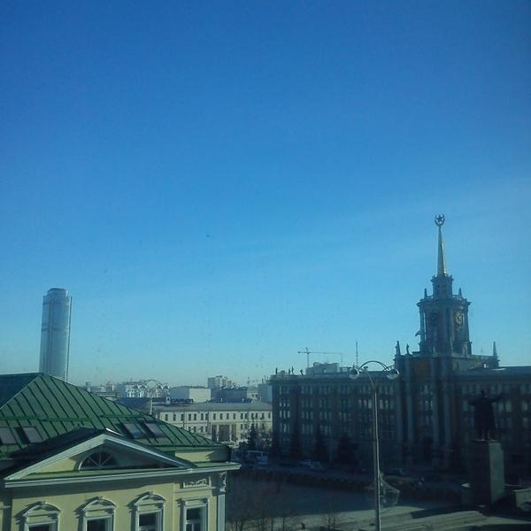 Вид из нашего офиса
