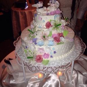 наш  свадебный тортик:) 02.08.2014