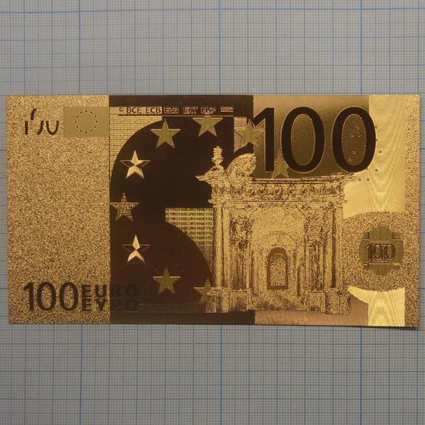 подпись на 100 евро празднования