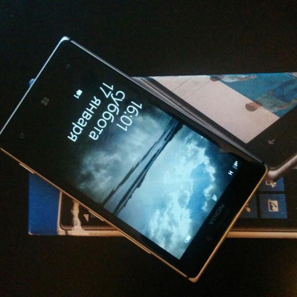 Nokia Lumia 925 - выдан в качестве подменного фонда взамен Alcatel OT Idol X+ 6043d