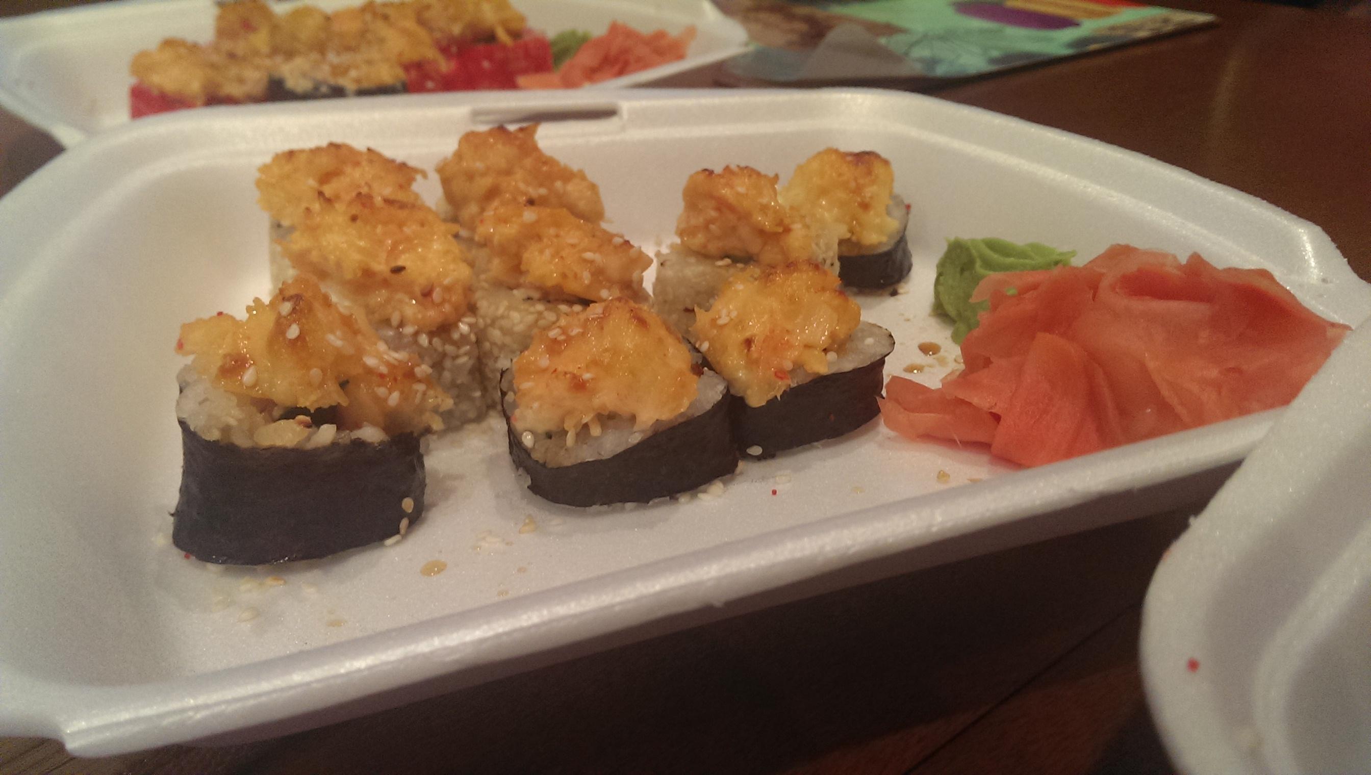 Бесплатная доставка суши магазина суши SushiLand в