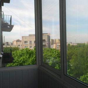 мой новый балкон