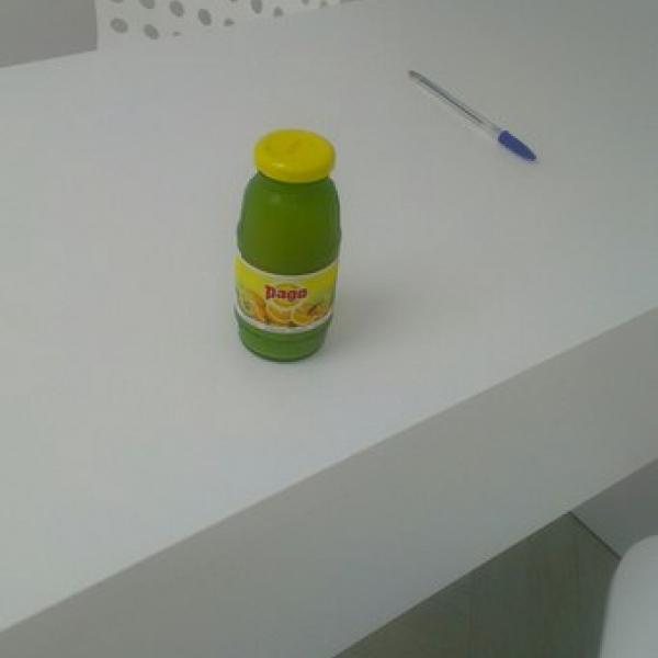 Собственно сок,которым меня угостили :)