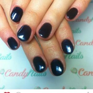 Маникюр и покрытие shellac в Candy Nails