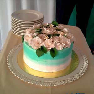 Свадебный тортик.