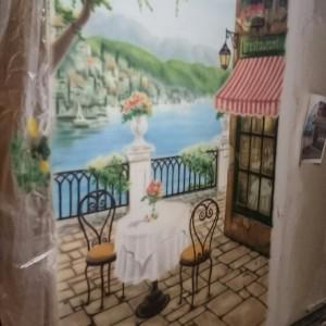 Рисунок во всю стену готов!!! (а ремонт ещё нет))) Кусочек Франции дома))))