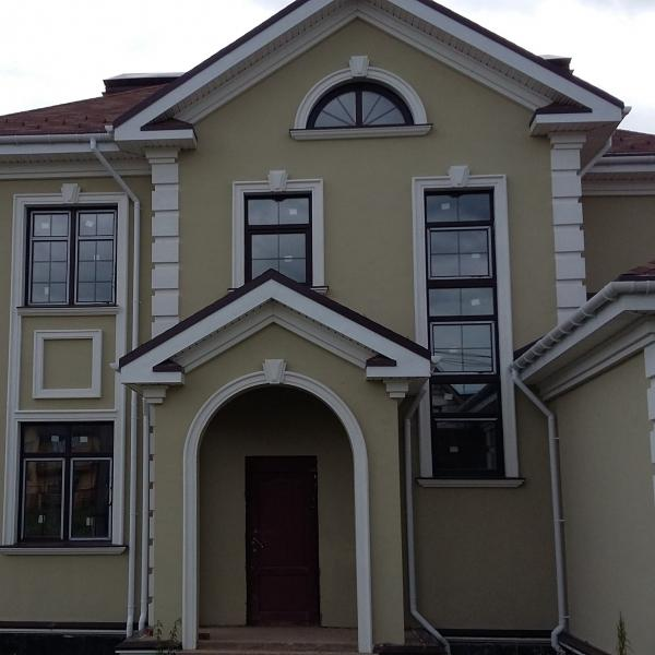 Монтаж мокрого фасада от 600 руб./м.кв.
