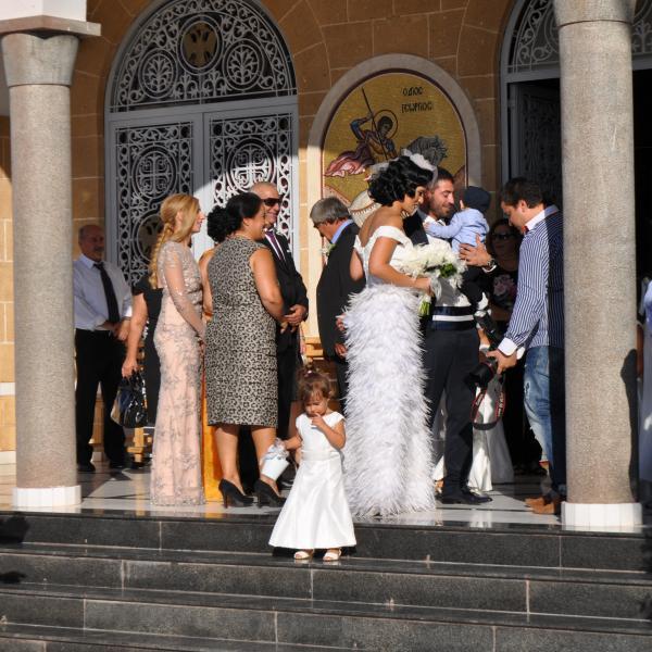 Попали на Греческую свадьбу случайно..