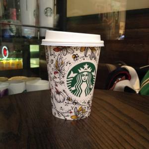 эх! восторг от кофе поумерился с опытом употребления кофе, а вот их стаканы и кружки - ОБОЖАЮ))