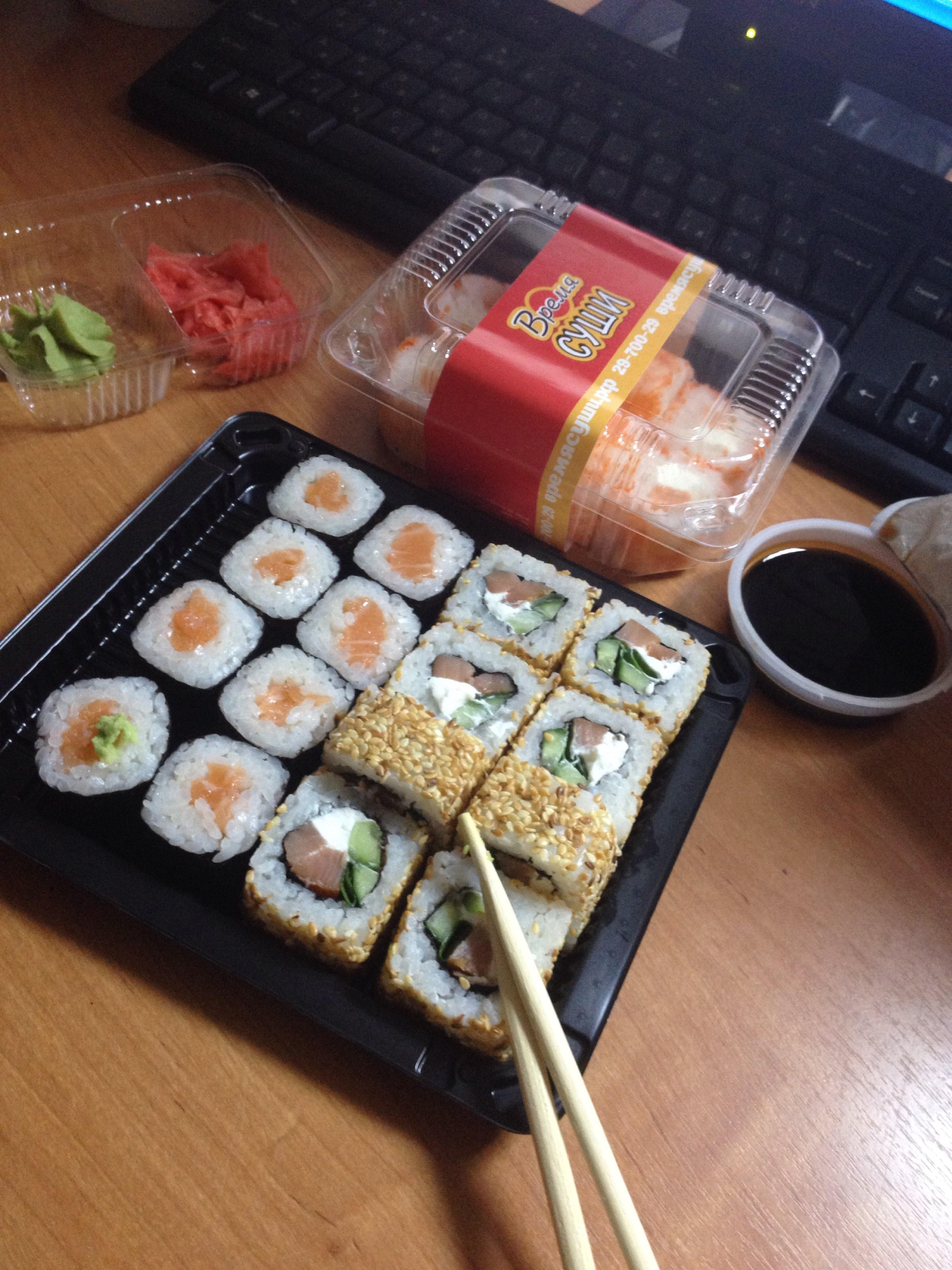 Все доставки суши по дзержинскому району