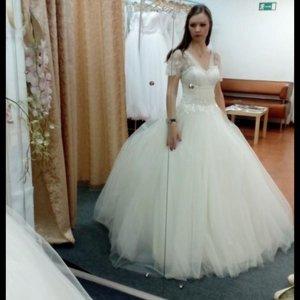 Свадебное платье луначарского