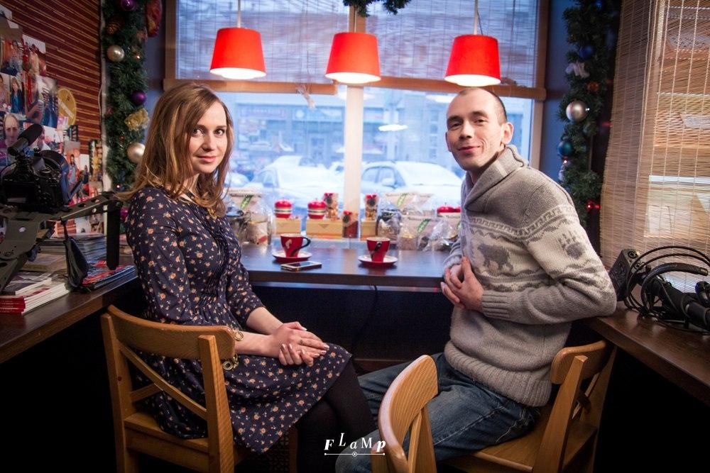 Главные герои фильма: Анна и Игорь.