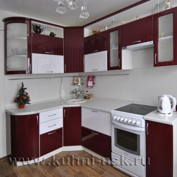 Дизайн угловой кухни - 30 фото идей