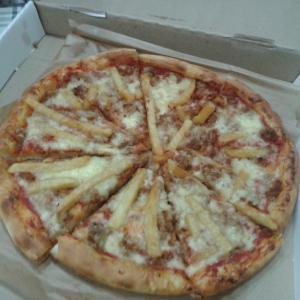 Вот и наша пицца от Донателло.