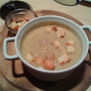 Грибной суп Портобелло. О-очень вкусно.