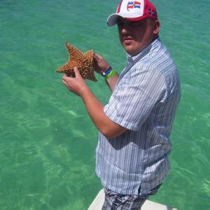 вот такие в Доминикане звёзды!