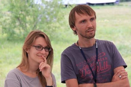 Елена Шкарубо и Андрей Ксенчук. Фото: Василий Дамов