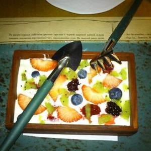 десерт Грядка..