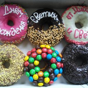 Подарочный наборчик пончиков)))