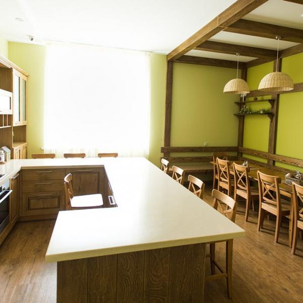 Кафе-мастерская. Для проведения кулинарных мастер-классов. Вместимость до 30 человек.