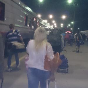 фото сделано на бегу за 8 минут до отправления поезда