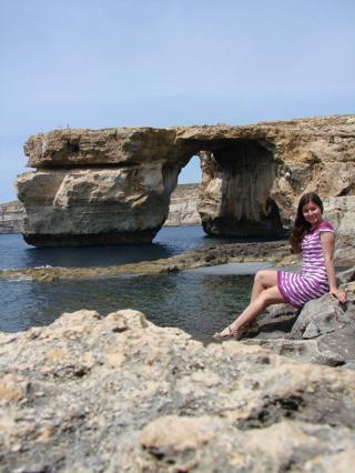 Знаменитое Лазурное окно на острове Гозо!