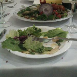 Трава вместо еды