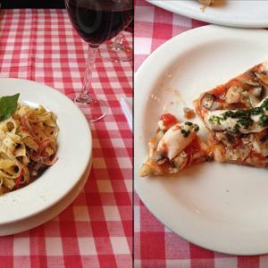 Божественная паста и хорошая пицца