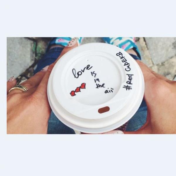 столько любви в кофе я еще не получала)