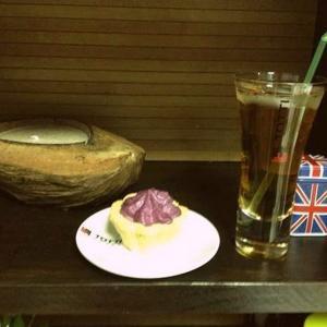 вкусная черничная корзиночка)))