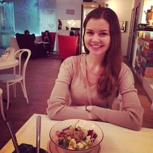 Сперто без разрешения из инстаграма Шизгары. Смотрите какой салат!