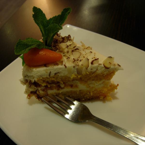 Морковный тортик