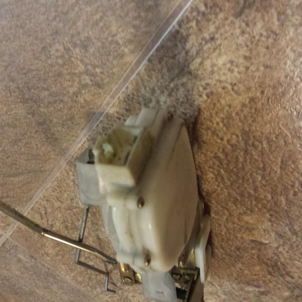 Фото родного левого замка ММС Делика 2.8 дизель