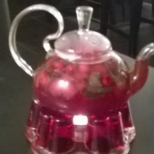 Брусничный чай с имбирем