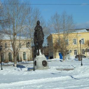 Памятник Екатерине в Ирбите!