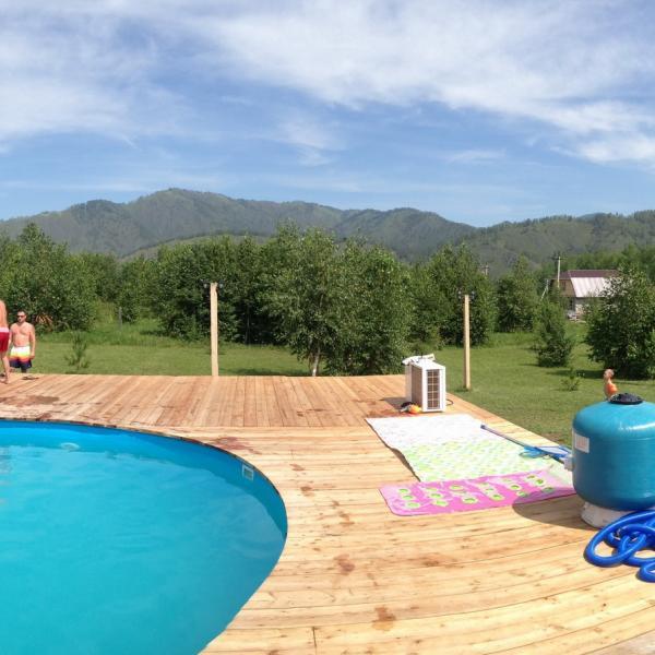 Панорама с бассейна