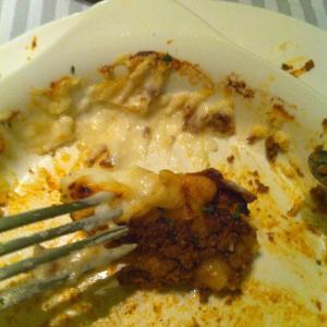 Остатки безумно вкусной лазаньи с идеальным бешамелем!