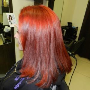 Вот такую красоту моим волосам подарили Innoa  и волшебные руки Елены! В полном восторге!!!