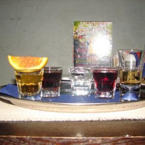 Бронепоезд 5 составов РОМ: Ром светлый, сок вишни, ром темный, Кола, ром пряный, апельсин с корицей