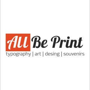ALL BE PRINT