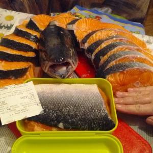 Аппетитные кусочки Семги из Делси. 5 кг. за 3290 руб. Мы любим рыбу:)