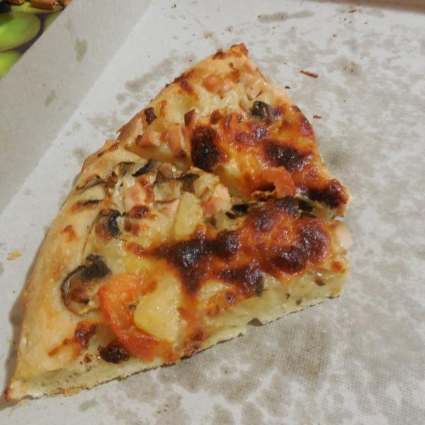 Подгаревший сыр