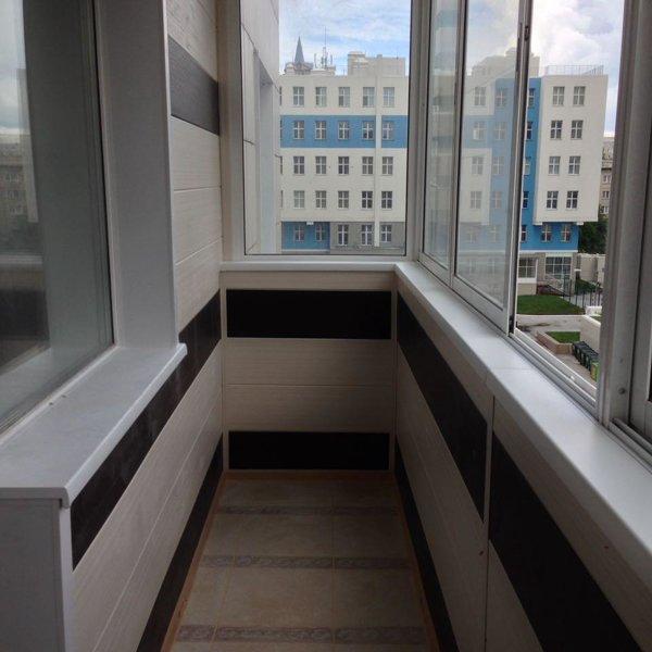 Лоджия пластиковая от компании компаниЯ балконы и лоджии (но.