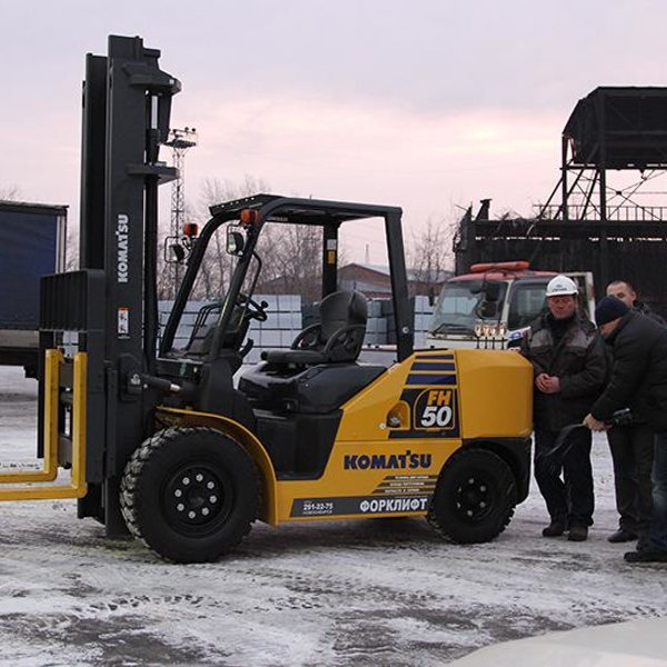 машина нового поколения – 5-ти тонный погрузчик Komatsu FH