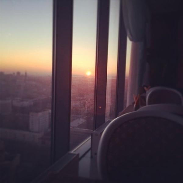Екатеринбург просыпается