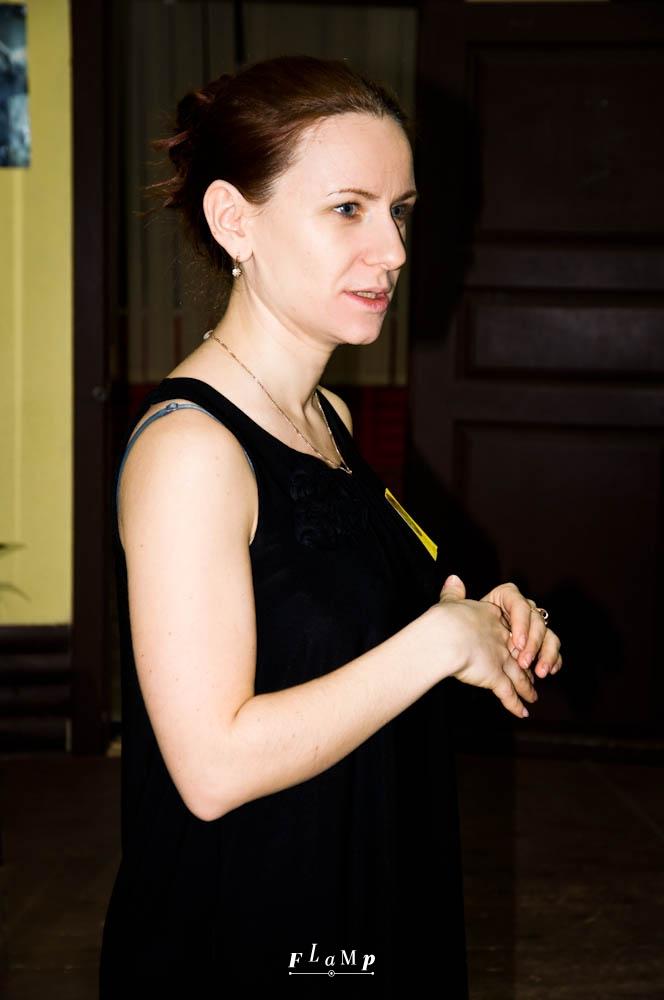 Татьяна Гуревич, преподаватель школы.