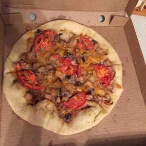 """пицца """"Лесная""""  (которая большая 30 см вроде)"""